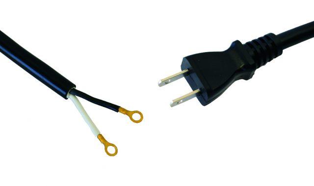 2芯 12A・15A修理用コード