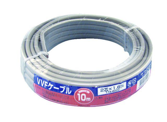 VVF 1.6mmケーブル ラップ巻