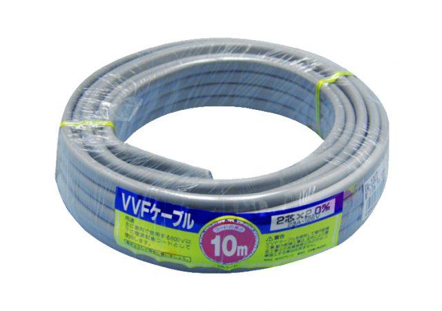 VVF 2.0mmケーブル ラップ巻